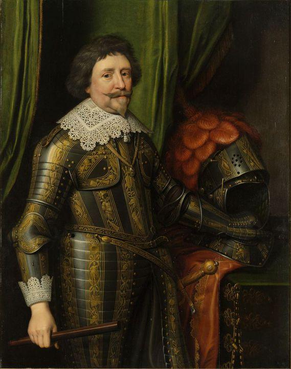 portret prins Frederik Hendrik