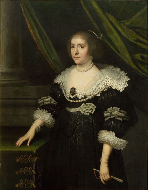 portret Amalia van Solms