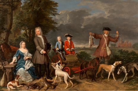 Pieter Quarles en Cornelia Splinter van Loenersloot met hun zoons Willem en Lodewijk.jpg